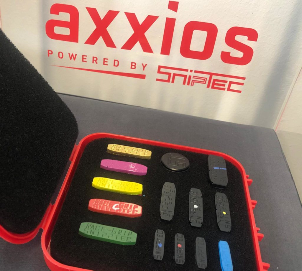 Puces anti-vibrations axxios