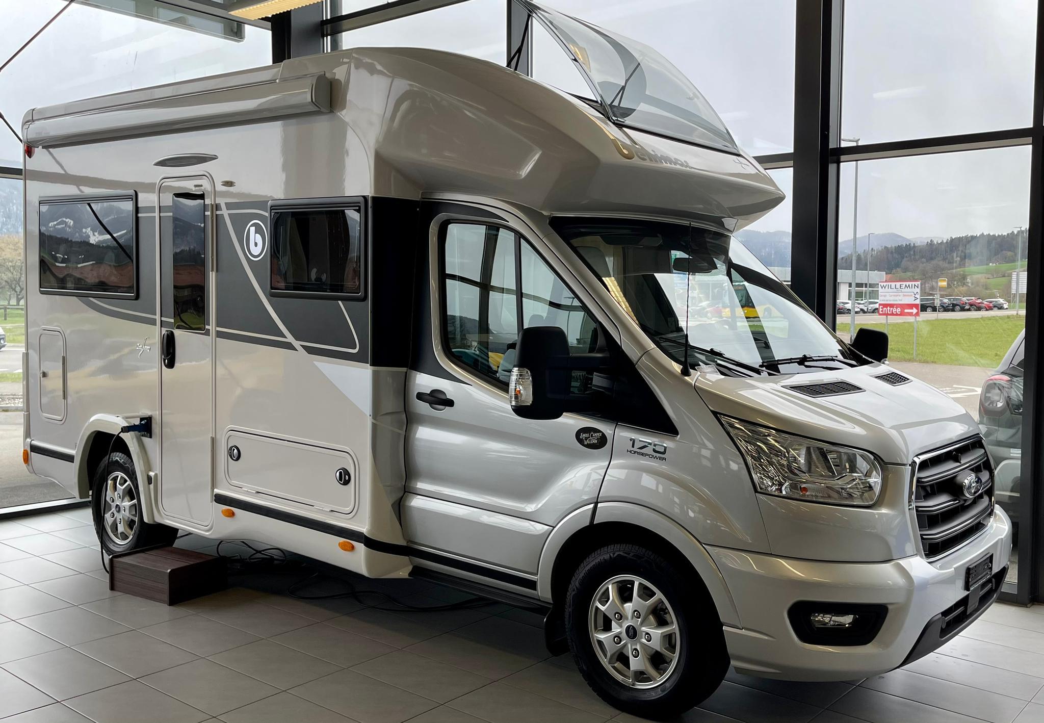 Camping car Garage Willemin